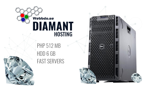 Webbdo Diamant uppgradering